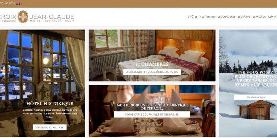 Hôtel et restaurant LA CROIX JEAN-CLAUDE à Méribel les Allues